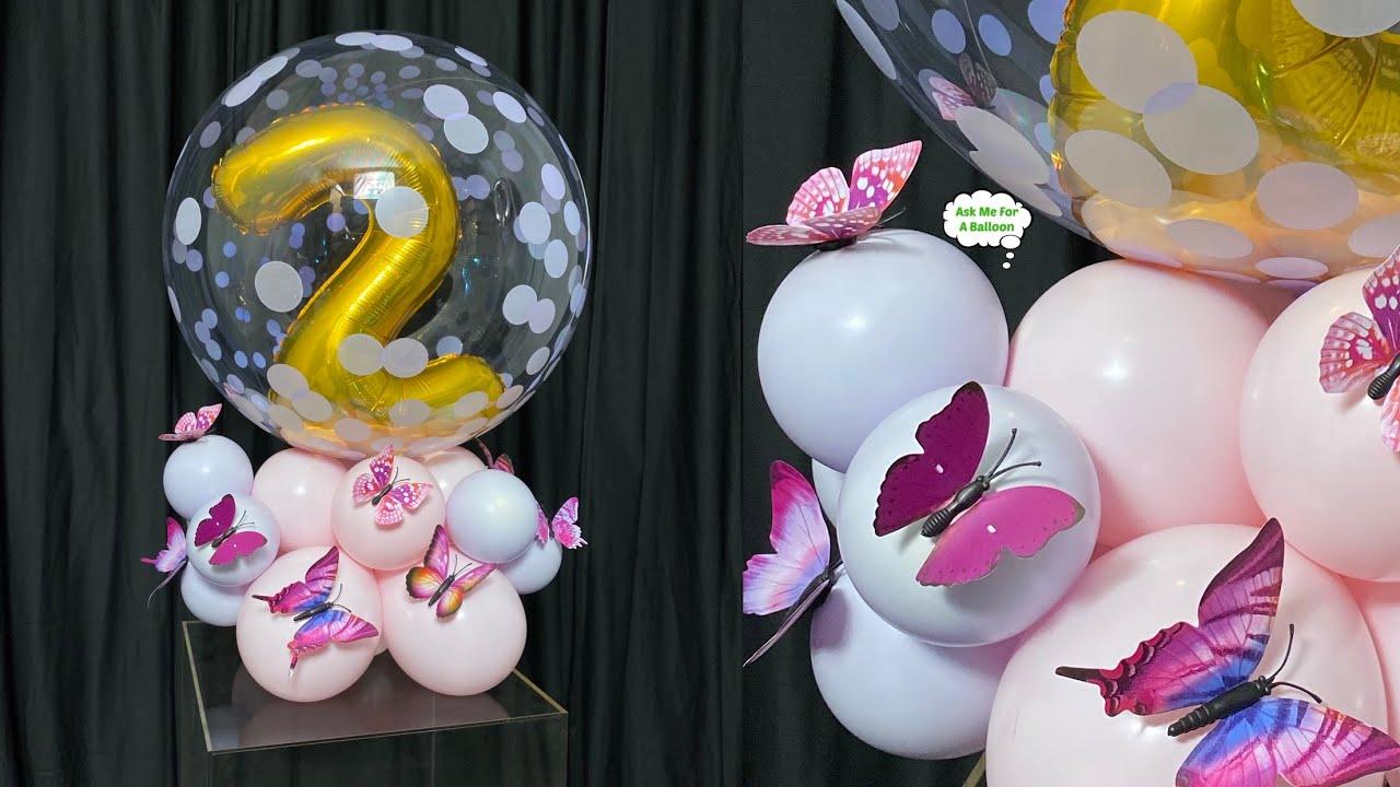Bubble Balloon Decoration 2nd Birthday