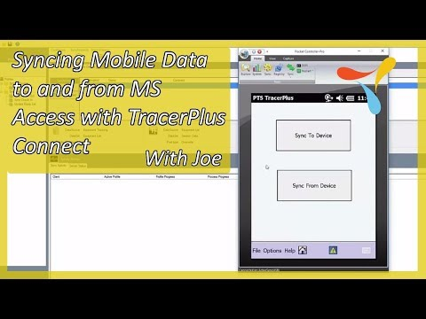 Syncing Mobile Data to and from MS Access with TracerPlus