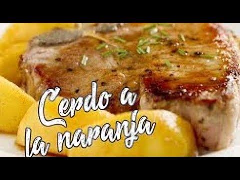 Lomo De Cerdo En Salsa De Naranja - Receta Casera
