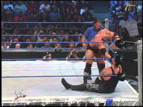 WWE SD! 28/08/03 Undertaker vs Big Show vs Brock Lesnar