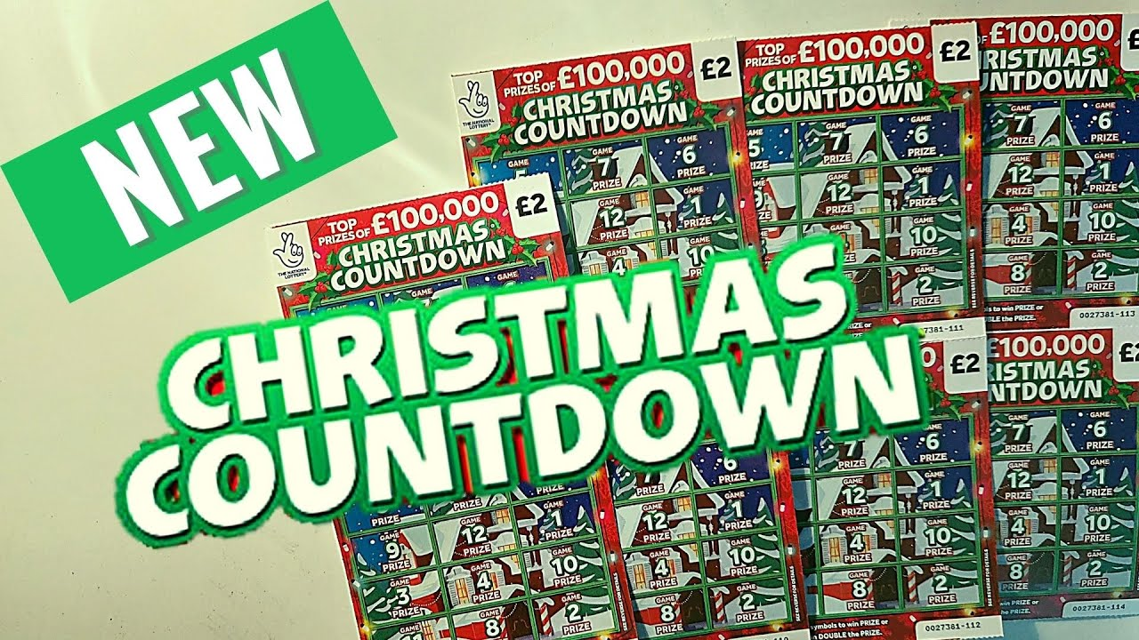 New Christmas Countdown Scratchcards Youtube
