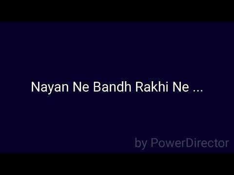 Pankaj Mistry   Nayan Ne Bandh Rakhi Ne   Gujarati Cover Song