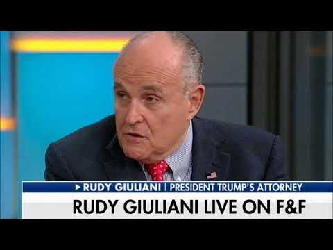 Rudy Giuliani Reacts to Michael Cohen's Testimony