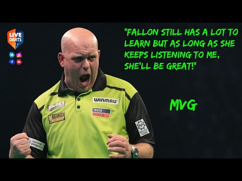 "MVG: ""Fallon still has a lot to learn but as long as she keeps listening to me, she'll be great!"""