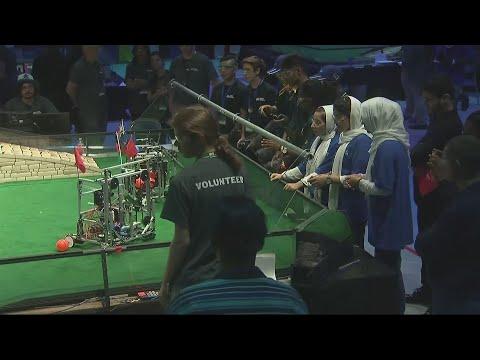Afghan robotics girls compete after Trump VISA intervention