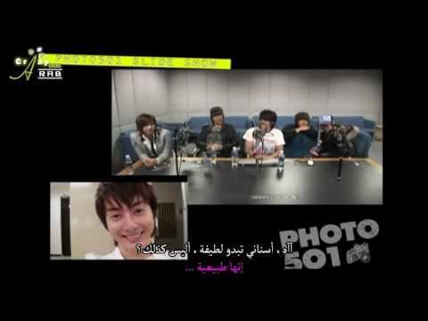 [Arabic Sub] SS501 Photo501 Slideshow - Kim Hyung Jun