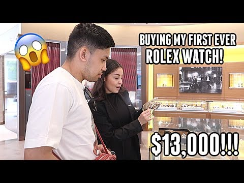 I PURCHASED MY FIRST EVER ROLEX IN NEW YORK CITY!