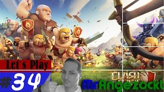 Let's Play Clash of Clans #34- Angriffe der Clan-Member! - COC [Android, HD+, deutsch]