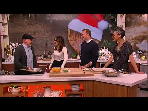 Jennifer Esposito Reveals Holidays Plans on The Chew