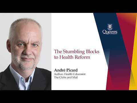 André Picard: 2017 Duncan G. Sinclair Lectureship in Health Services and Policy Research