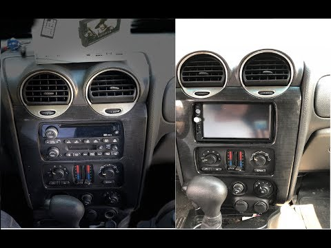 GMC ENVOY : EBAY 7inch Player Installation In Details HOW TO
