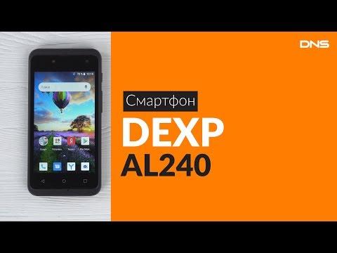 Распаковка смартфона DEXP AL240 / Unboxing DEXP AL240