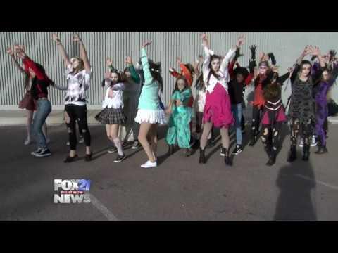 """Revolution Dance Academy - """"Thriller"""" Zombie Dancers"""