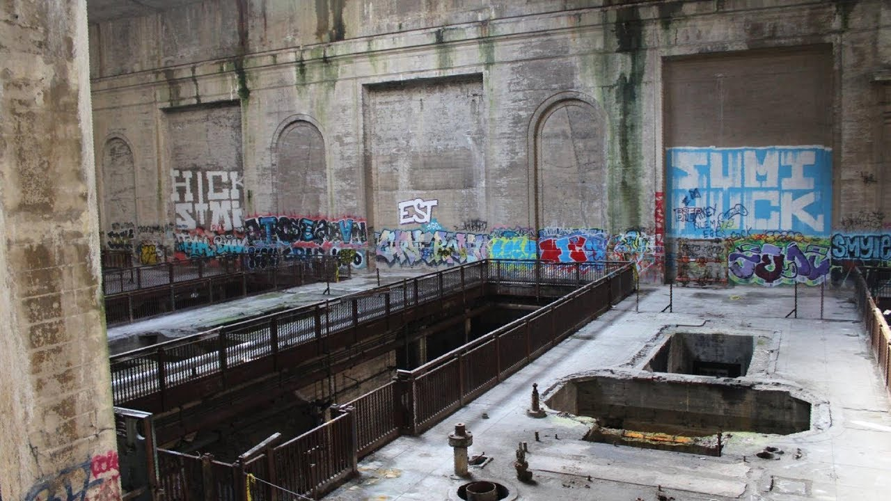 Abandoned Philadelphia Plant