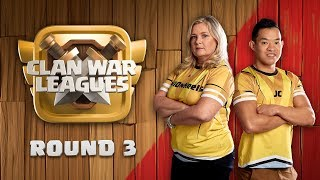 Clan War Leagues War Strategy Clash of Clans Round 3