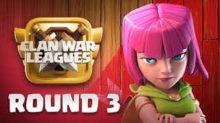 Clan War Leagues - War Strategy - Clash of Clans - Round 3