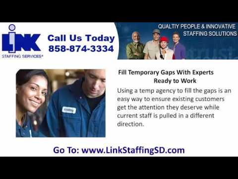 Temporary Staffing Company, Temp Agency in San Diego CA