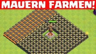 EASY MAUERN FARMEN! || CLASH OF CLANS || Let's Play CoC [Deutsch/German HD+]