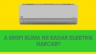 A Sınıfı Klima Ne Kadar Elektrik Harcar?