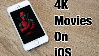 Download 4k movies on iphone!