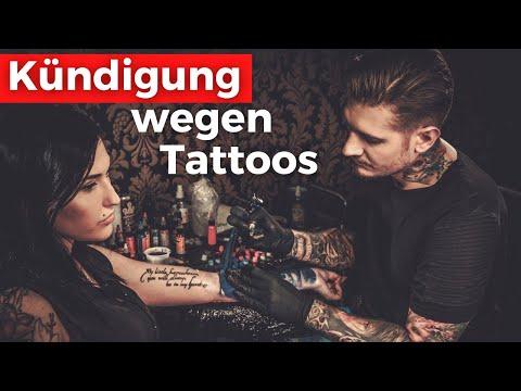 Tattoo kann Grund für eine Kündigung sein (Urteil)