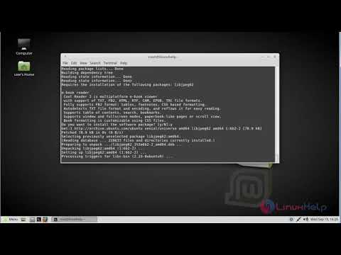 How to install Cool Reader on Linux mint 18.03 #1