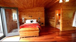 #33641 - Catskills Log Home, Bed Room With View