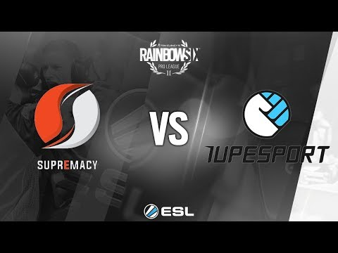 Rainbow Six - Six Invitational 2018 - Qualifications - EU - 1UPeSport vs. Supremacy
