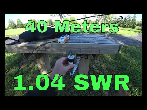 Analyze SWR | Chameleon MPAS Antenna | RigExpert Antenna Analyzer