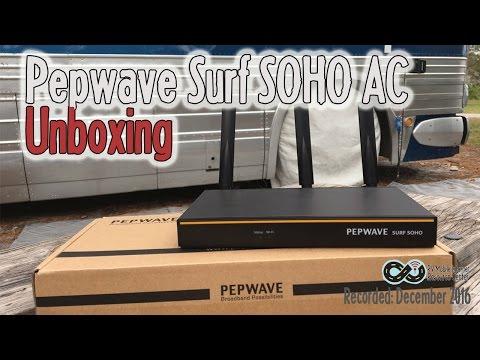 Peplink Pepwave Surf SOHO Overview - Mobile Internet WiFi/Cellular Router