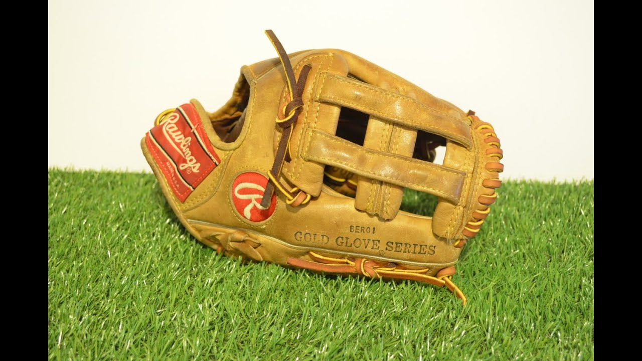 Rawlings PRO 1000 Baseball Glove Relace - Before and After Glove Repair