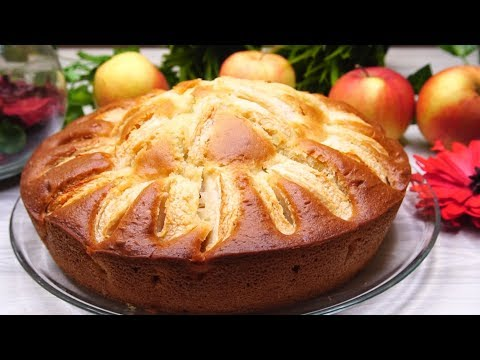Сочный Пирог на кефире за 9 минут + время на выпечку