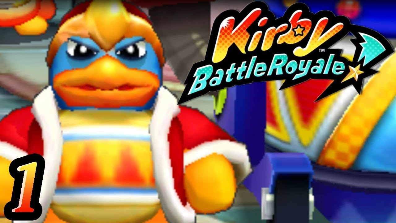 Kirby Battle Royale Part 1
