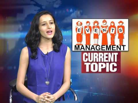 CURRENT TOPIC  - CAREER IN EVENT MANAGEMENT