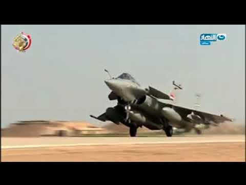 أخر النهار - القوات الجوية المصرية (نسور تحلق في السماء)