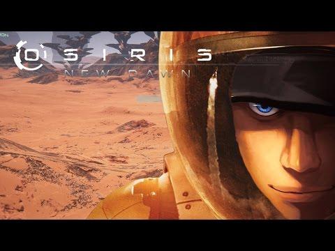 Osiris New Dawn Gathering Iron, Plutonium and Aluminium!   Part 1   Let's play - Gameplay