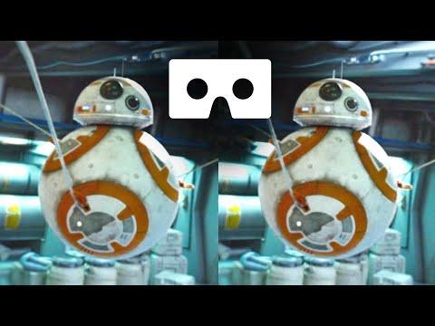 Star Wars Google Cardboard 3D VR SBS Split Screen not 360