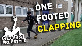 STREET SOCCER SKILL TUTORIAL // ONE FOOTED CLAPPING!!