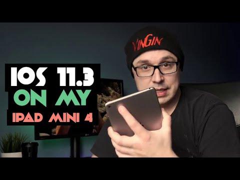 📲 IOS 11.3 on iPad Mini 4