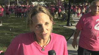 Thousands Stand Like a Flamingo for Women's Health