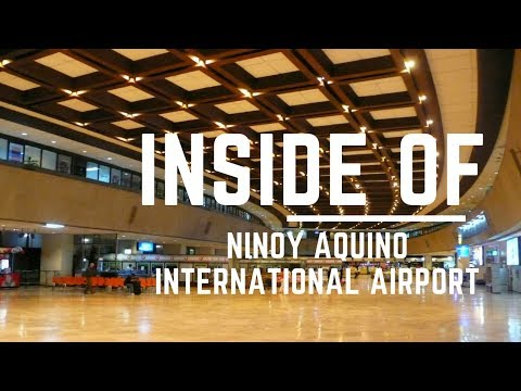 Inside of Ninoy Aquino International Airport Manila 2018