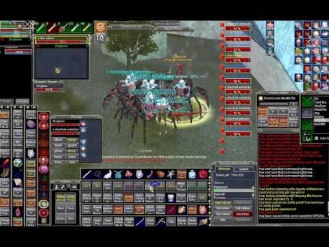Everquest | EoK | SK + DPS merc Vs  12 Drachnids