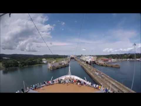 MS Nieuw Amsterdam - The Panama Canal - 4K