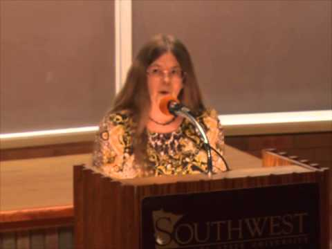 Susan McLean, Southwest Minnesota State University, Poetry Reading 10 20 2014 KSSU