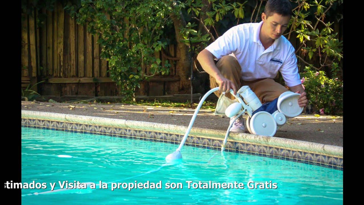 Limpieza de piscinas orlando florida youtube for Limpieza de piscinas