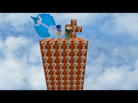 ILHA DO DORITOS l ILHA LUCKY BLOCK MINECRAFT