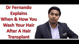How Do You Wash Your Hair After A Hair Transplant thumbnail