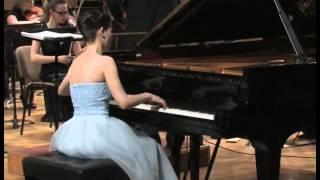 Sergei Prokofiev - Piano Concerto No. 1, Des-dur, op. 10 (Linda Leine, Andris Vecumnieks)