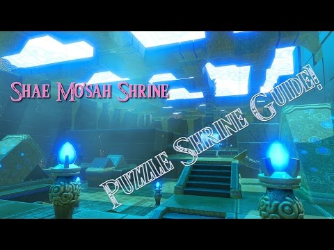 Breath of the Wild Guides - Shae Mo'sah Shrine (Swinging Flames)