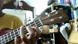 Pauliboy Playing ukulele Lazy song